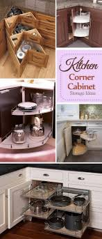 Kitchen Corner Kitchen Corner Cabinet Storage Ideas Ideastand