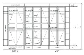 standard closet depth orgnizer plns linen shelf coat bedroom standard closet depth