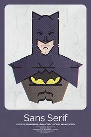 Characteristics Of A Superhero Mfa Superhero Typographic Classifications On Behance