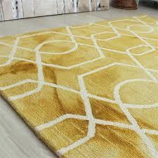 modern gold area rug yellow bathroom rugs