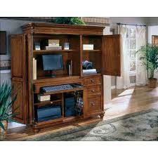contemporary computer armoire desk computer armoire. brownwoodframecomputerarmoirewiththreedrawers contemporary computer armoire desk
