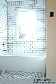 home interior white tiles grey grout unique wall allisonamelia