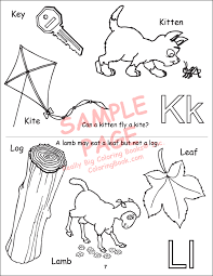 You can print all 26 alphabet pages, or just the letter of the week you are working on at th emoment. Coloring Books My Alphabet Book Abc 123