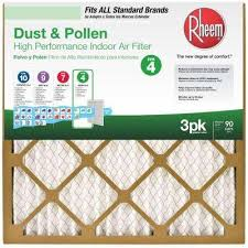 Flanders Filters Rheem Fpr 4 Air Filter 3 Pack
