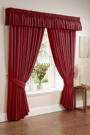 bedroom curtain designs. Beautiful Bedroom Leaf Motif Red Curtain Design Bedroom  Pictures Photos  Images On Designs S