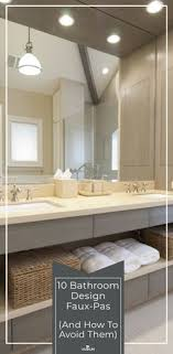 bathroom remodel design ideas.  Bathroom 10 Bathroom Design FauxPas And How To Avoid Them For Remodel Ideas