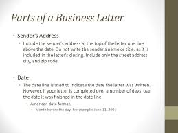 Basic Business Letters Writing The Basic Business Letter Ppt Download