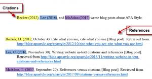 Brilliant Ideas Of Apa Quick Guide For Your Citing References For ...