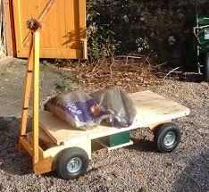garden cart plans. home built electrically powered yard or garden wagon plans cart