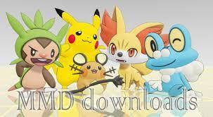 MMD Pokemon Team XY Download by Jakkaeront on DeviantArt