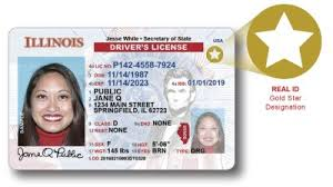 Id-compliant Illinois Id Rolls Cards com Wqad Licenses Out Real