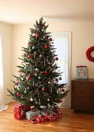 Christmas Tree -- I prefer trees with only silver, gold, green and red