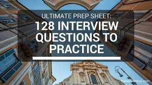 What Do You Do For Fun Interview Question 128 Free Practice Interview Questions Sample Behavioral Questions
