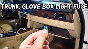 Trunk Boot Light Glove Box Compartment Light Fuse Location Bmw E90 E91 E92 E93