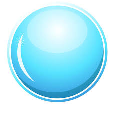 Blue Glossy Button Vector Download