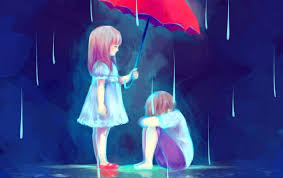 Sad Love Wallpaper Anime