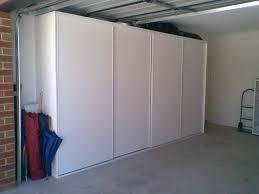 garage storage sliding door closet woodworking talk woodworkers forum
