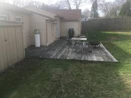 looking for advice on building a ground level deck or stone paver patio