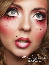 karolina zientek makeup charakteryzacja halloween halloween makeup costume makeup and doll makeup
