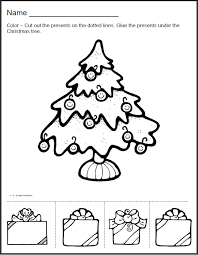 preschool cut and paste christmas | have added Christmas ...