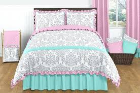 gray and turquoise bedding image of pink and turquoise bedding sets grey turquoise baby bedding
