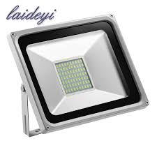Super Bright Led Flood Light Us 21 21 33 Off Ultrathin Ip65 50w 220v Led Floodlight Warm Cool White Led Lamp Waterproof Super Bright Led Light Outdoor Lighting Garden Light In