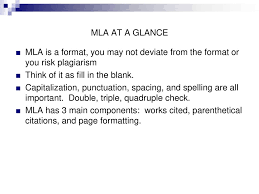 Mla Review Ppt Download