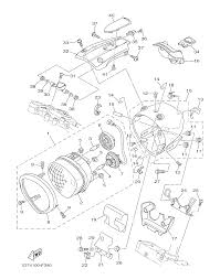 2013 yamaha roadliner s xv19sdcb headlight parts best oem headlight parts diagram for 2013 roadliner s xv19sdcb motorcycles