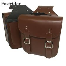fastrider vintage designer motobiker motorcycle saddlebags pu leather large capacity motorcycle saddle bags bag black motorcycle windshield bags motorcycles