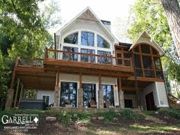 lake house plans first floor design ideas lakefront home rear view great weekend arts designs cabin lrg aw