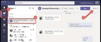 microsoft teams recurring meetings