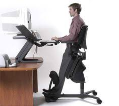 standing office chair. Exellent Chair Standing Workstation  Stance Angle Chair Back Pain Relief And Office R