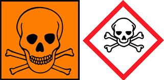 Bildergebnis für Gefahrenzeichen Chemie