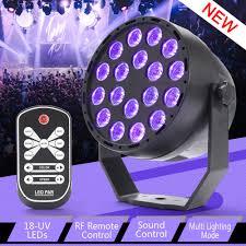 Black Light With Remote Details About 4x 18 Led Uv Black Light Dmx Par Can Stage Lighting Disco Club Bar Dj W Control