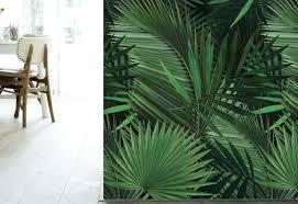 Behang Met Tropische Prints Vtwonen