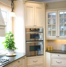 Tall Narrow Kitchen Cabinet Deep Pantry Storage Slim Wooden Cabinets
