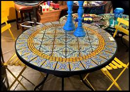 tile outdoor table. Large Size Of Round Patio Dining Table Replacement Center Tile For Mosaic Outdoor