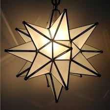 moravian star pendant light clear glass antique mirrored larger image hanging fixture
