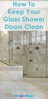 discover the top tips and tricks to keeping your shower glass doors sparkling clean without any