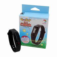 Mcbazel Brook Pocket Auto Fangen Armband Armband Clip Verschluss Gurt für Pokemon  Go-tcha/Xiaomi Mi Band 1 & 2 nur Elastizität Silikon Magnetic Clip Halter  schwarz Sport & Freizeit Armbänder