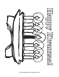 Click the kwanzaa coloring pages to view printable version or color it online (compatible with ipad and android tablets). Happy Kwanzaa Coloring Page Free Printable Pdf From Primarygames