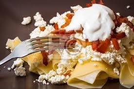 Good Fototapete Ungarische Küche: Pasta Mit Hüttenkäse, Enge Sicht