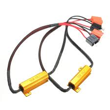 wiring led resistor reviews online shopping wiring led resistor hot 2x h7 50w 6ohm car led drl fog turn singal load resistor canbus error wiring canceller decoder