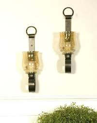 glass sconces for candles wall decorative candle holders replacement