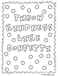 Kindness Coloring Pages By The Jolly Goods Teachers Pay Teachers