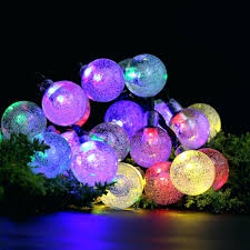 outdoor ball lights for trees large big