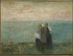 women at the sea jan toorop completion date style symbolism genre genre painting technique oil material canvas dimensions 36 x 46 cm
