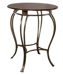 outdoor metal table. Montello Bar Height Bistro Table - CTN Round Metal Base Only Old Steel Outdoor D