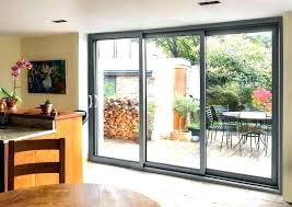 triple sliding glass patio doors far fetched door shutters for chic interior design 1