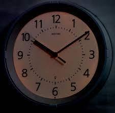 gemini lighted wall clock by rhythm